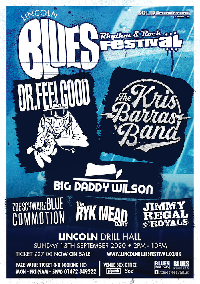 LINCOLN BLUES FESTIVAL 2020 NEW DATE